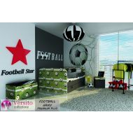 Łóżko tapicerowane FOOTBALL GREY PREMIUM PLUS z materacem - football_gray_premium_plus.jpg